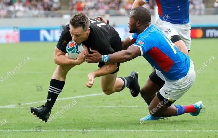 Editorial image of Rugby WCup New Zealand Namibia, Tokyo, Japan - 06 Oct 2019