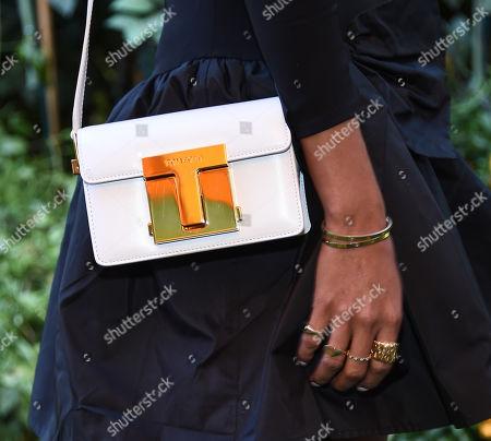 Stock Photo of Julie Sarinana, bag detail