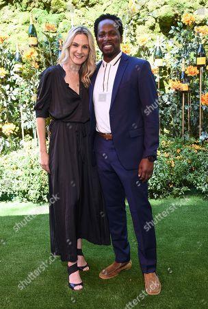 Harold Perrineau Jr. and Brittany Perrineau
