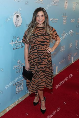 Danielle Fishel is seen at the 2019 American Humane Hero Dog Awards at The Beverly Hilton, in Beverly Hills, Calif. The 2019 American Humane Hero Dog Awards airs October 21, at 8pm ET/PT on Hallmark Channel