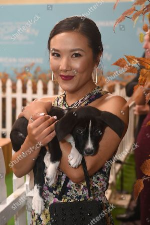 Ally Maki is seen at the 2019 American Humane Hero Dog Awards at The Beverly Hilton, in Beverly Hills, Calif. The 2019 American Humane Hero Dog Awards airs October 21, at 8pm ET/PT on Hallmark Channel
