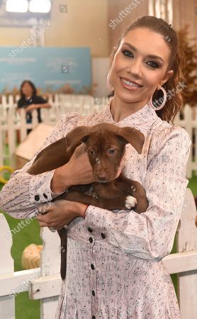 Jenna Johnson is seen at the 2019 American Humane Hero Dog Awards at The Beverly Hilton, in Beverly Hills, Calif. The 2019 American Humane Hero Dog Awards airs October 21, at 8pm ET/PT on Hallmark Channel