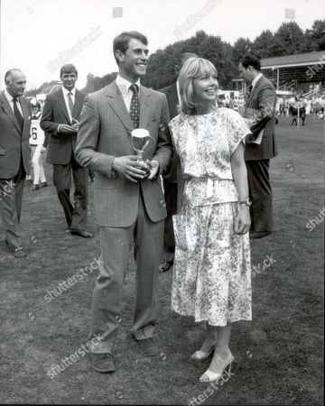 Earl Of Wessex Prince Edward 22 July 1984 Prince Edward And Tessa Wyatt At Ascot Spectacular Today. ...royalty