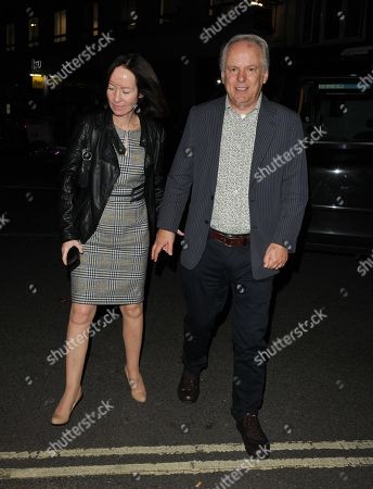 Stock Image of Mags Connolly and Nick Park