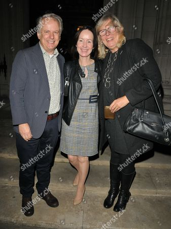 Nick Park, Mags Connolly and guest