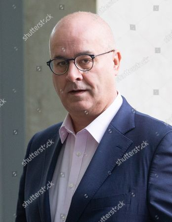 Stock Image of Broadcaster and Journalist Iain Dale arrives at the BBC Studios.