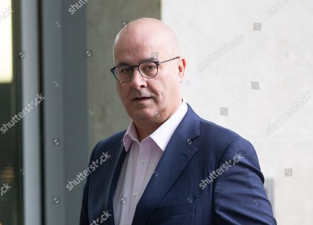 Stock Photo of Broadcaster and Journalist Iain Dale arrives at the BBC Studios.