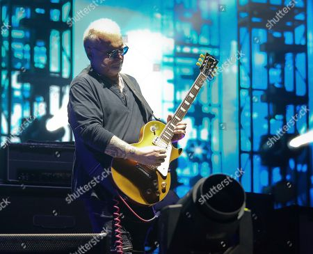 Stock Photo of The Cure's Reeves Gabrels performs during the first weekend of the Austin City Limits Music Festival in Zilker Park, in Austin, Texas
