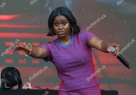 Tierra Whack performs during the first weekend of the Austin City Limits Music Festival in Zilker Park, in Austin, Texas