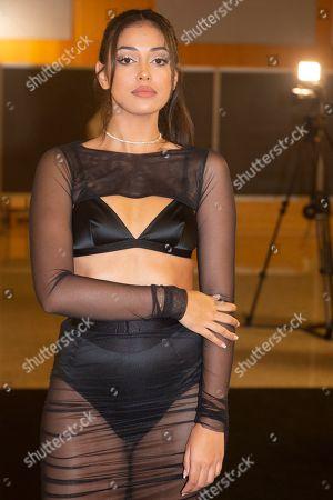 Editorial photo of Gran Canaria Moda Calida show, Swimwear Fashion Week, Expomeloneras, Maspalomas, Gran Canaria Island, Canary Islands, Spain  - 05 Oct 2019