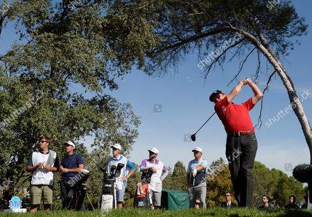 Editorial picture of Mutuactivos Open de Espana golf tournament, Madrid, Spain - 06 Oct 2019
