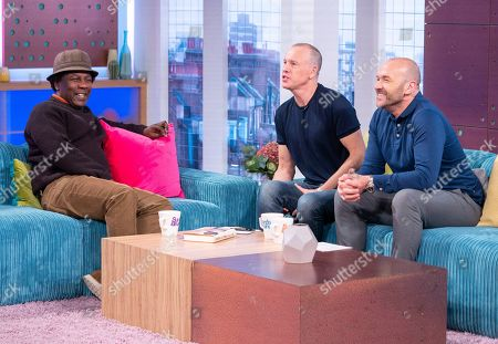 Norman Jay, Tim Lovejoy and Simon Rimmer