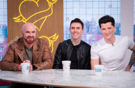 The Script - Mark Sheehan, Danny O'Donoghue and Glen Power
