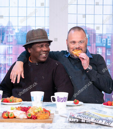 Norman Jay and Al Murray