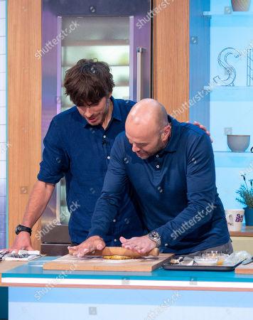 Stock Image of Simon Reeve and Simon Rimmer