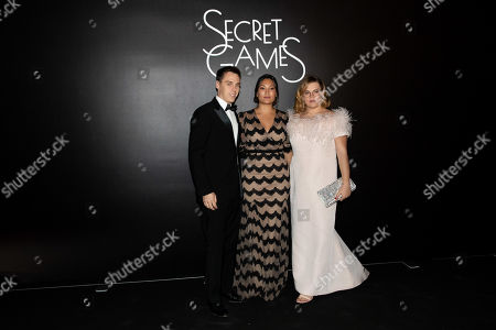 Louis Ducruet, Marie Ducruet and Camille Marie Kelly Gottlieb