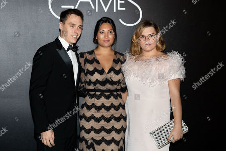 Stock Picture of Louis Ducruet, Marie Ducruet and Camille Marie Kelly Gottlieb