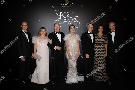 Editorial photo of Secret Games Party at Monte Carlo Casino, Monaco - 05 Oct 2019