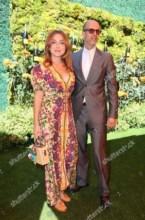 Stock Photo of Sasha Alexander and Edoardo Ponti
