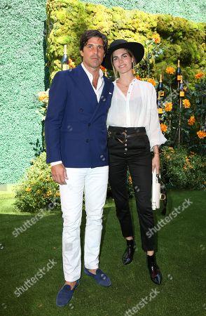 Stock Image of Nacho Figueras and Delfina Blaquier