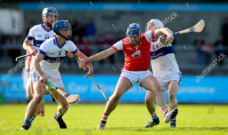 Cuala vs St. Vincent's . Cuala's Sean Moran with Rian McBride and Brian Bolger of St. Vincent's