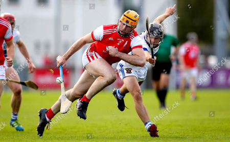 Cuala vs St. Vincent's . Cuala's Oisin Gough and John Walsh of St. Vincent's