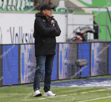 Union?s head coach Urs Fischer during the German Bundesliga soccer match between VfL Wolfsburg and FC Union Berlin in Wolfsburg, Germany, 06 October 2019.