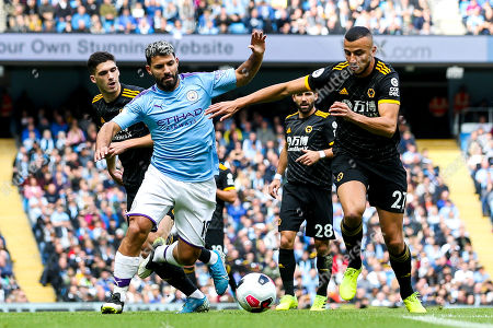 Editorial picture of Manchester City v Wolverhampton Wanderers, UK - 06 Oct 2019