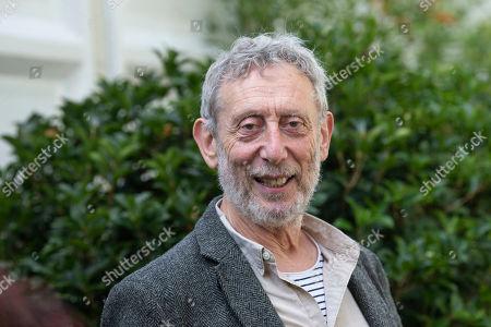 Poet, performer, broadcaster Michael Rosen at at the Cheltenham Literature Festival.