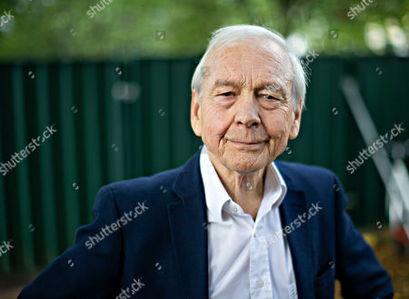 Former BBC Radio 4 Today presenter John Humphrys at the Cheltenham Literature Festival.