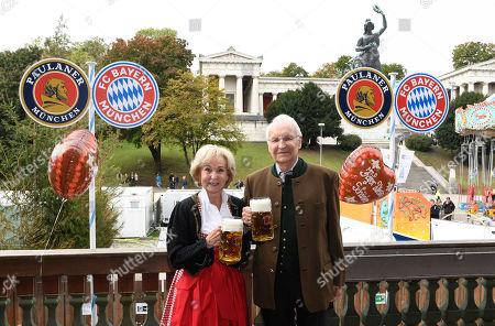 Edmund Stoiber and Karin Stoiber