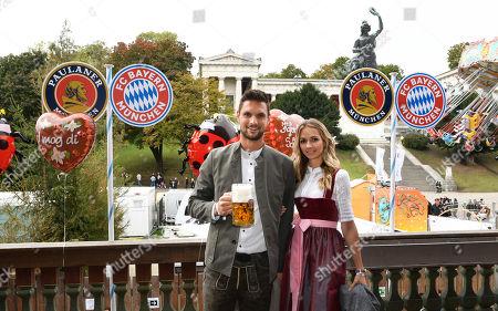 Editorial image of FC Bayern Munich attends Oktoberfest, Germany - 06 Oct 2019