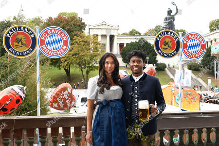 Stock Picture of Shalimar Heppner and David Alaba