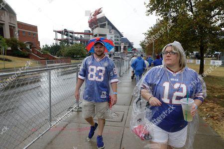 Editorial picture of Bills Titans Football, Nashville, USA - 06 Oct 2019