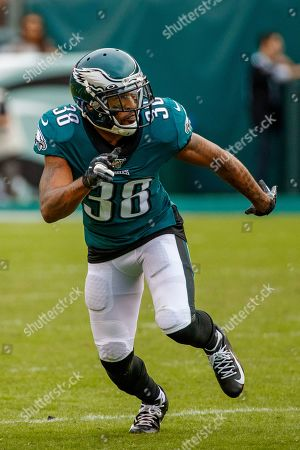 Philadelphia Eagles defensive back Orlando Scandrick (38) in action during the NFL game between the New York Jets and the Philadelphia Eagles at Lincoln Financial Field in Philadelphia, Pennsylvania