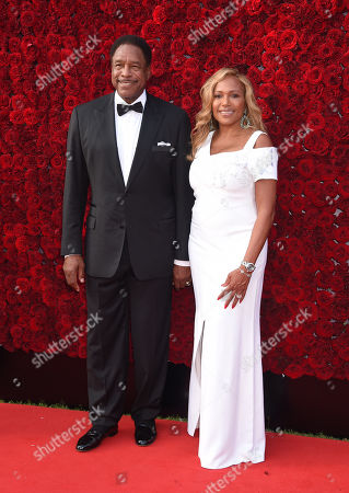 Dave Winfield and wife Tonya Turner