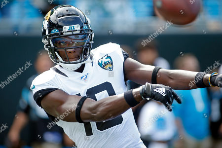 Editorial picture of Jaguars Panthers Football, Charlotte, USA - 06 Oct 2019