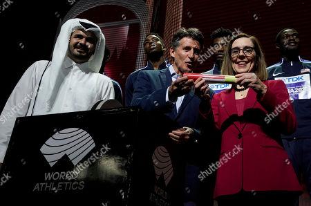 Editorial image of Athletics Worlds, Doha, Qatar - 06 Oct 2019