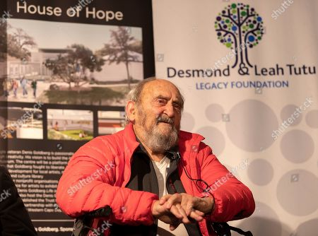 Former Rivonia Trialist and long-term political prisoner Denis Goldberg who was imprisoned during apartheid with Nelson Mandela introduces the Forgotten Liberators exhibition at the Desmond & Leah Tutu Legacy Foundation in Cape Town, South Africa 06 October 2019. The exhibition, sub-titled, Third World in World War II, presents a decolonised history of the Second World War, acknowledging the six million Jews who died in the holocaust as well as the 20 million others including gay and lesbian people, gypsies, communists and third world conscripts  who lost their lives opposing the racism of Nazi Germany. The exhibition is the product of more than 20 years of research conducted by a group of scientists and journalists based in Cologne, Germany.  Approximately one million people from Great Britain?s colonies and another million people from French Colonies were conscripted as soldiers. They fought in the winters of Europe without adequate clothing or equipment, the colonies having to provide 90% of the materials for the war, including food. Not only did many die in battle, but they died of starvation while their families at home lost essential harvests.