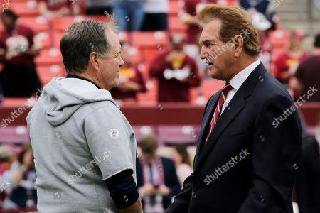 Editorial image of Patriots Redskins Football, Washington, USA - 06 Oct 2019