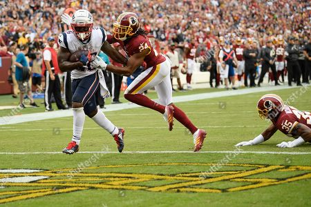 Editorial picture of Patriots Redskins Football, Washington, USA - 06 Oct 2019