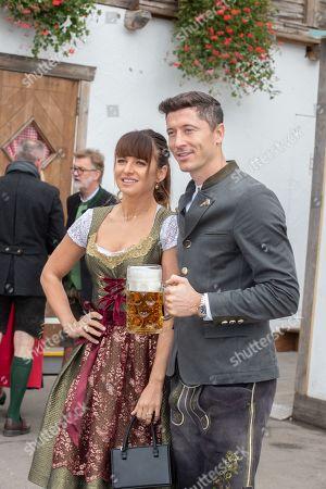 Robert Lewandowski and Anna Lewandowska