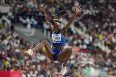 Tori Bowie (USA), Long Jump Women - Final, during the 2019 IAAF World Athletics Championships at Khalifa International Stadium, Doha