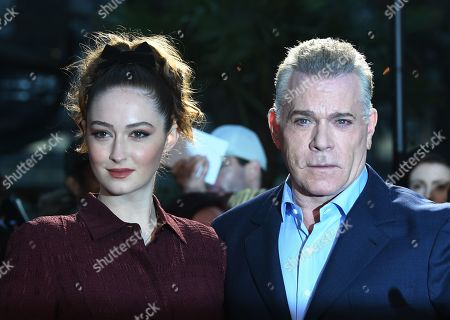 """Ray Liotta and his daughter Karsen Liotta (L) arrive to the UK premiere of """"Marriage Story"""" in Leicester square in London, Britain, 06 October 2019. The 2019 BFI Film Festival runs from 02 to 13 October."""