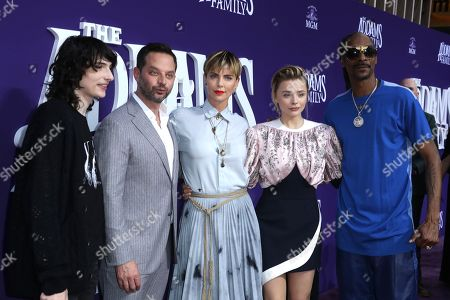 Finn Wolfhard, Nick Kroll, Charlize Theron, Chloe Grace Moretz and Snoop Dogg