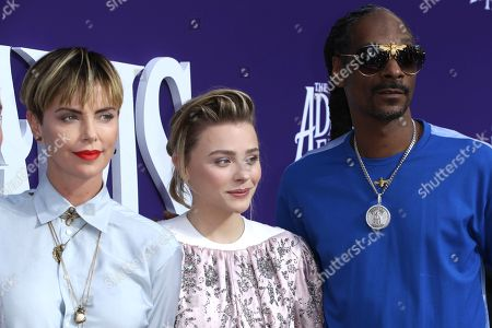 Charlize Theron, Chloe Grace Moretz and Snoop Dogg