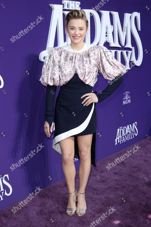 Editorial photo of 'The Addams Family' film premiere, Arrivals, Westfield Century City, Los Angeles, USA - 06 Oct 2019