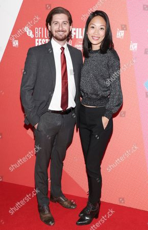 Stock Image of Christopher Leggett and Anita Gou
