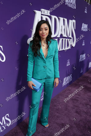 Editorial photo of MGM THE ADDAMS FAMILY World Premiere, Los Angeles, CA, USA - 06 October 2019