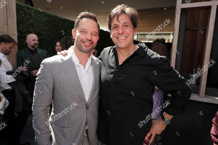 Stock Image of Nick Kroll, Jonathan Glickman, President, Motion Picture Group, Metro Goldwyn Mayer Studios,